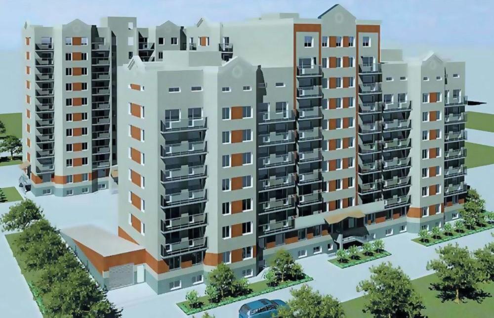 Жилой дом на 220 квартир с помещениями и паркингом