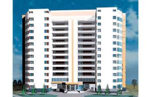 12-этажный жилой дом на 131 квартиру