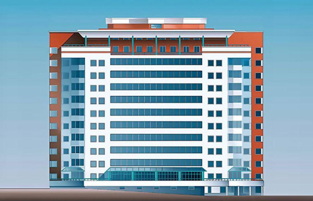 12-этажный жилой дом на 126 квартир