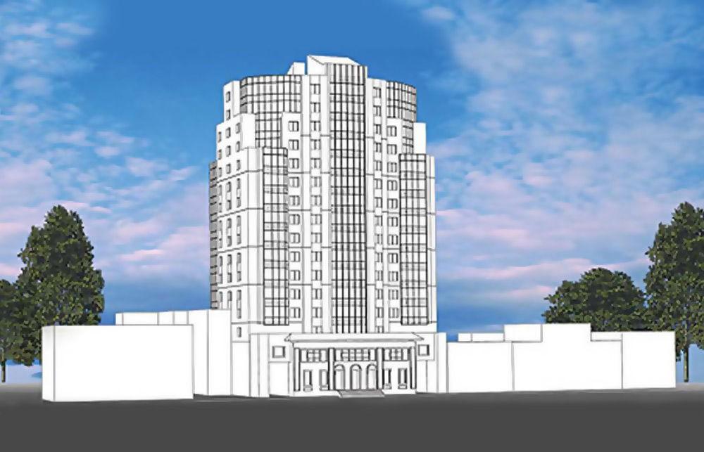16-этажный жилой дом на 84 квартиры