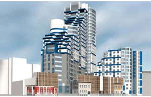 Жилой комплекс переменной этажности на 187 квартир