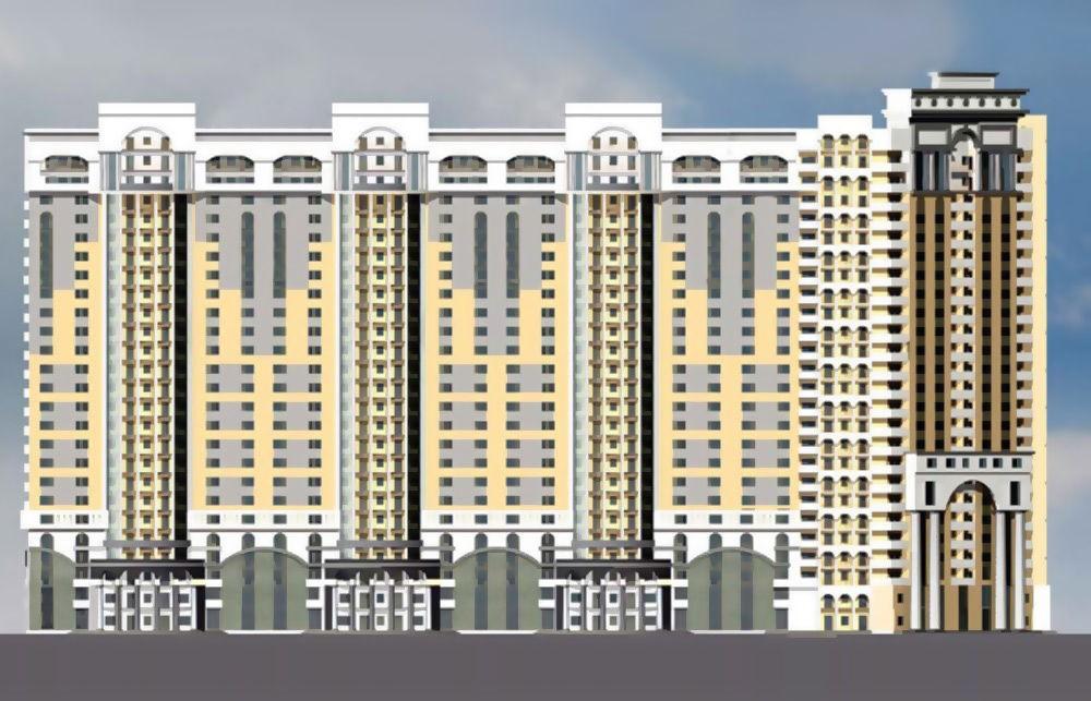 Жилой комплекс на 684 квартиры с помещениями