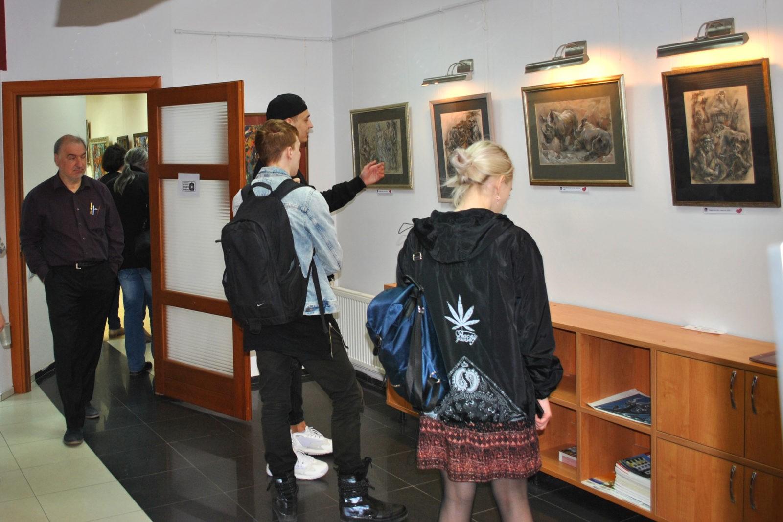 23 апреля 2019г. - Открытие выставки Филатовой Н.Г.