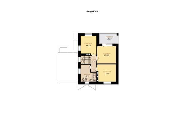 План второго (мансардного) этажа